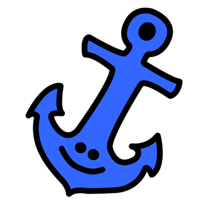 Smiling anchor